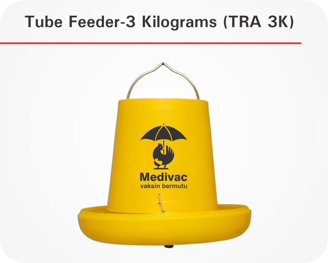 Tube Feeder-3 Kilograms (TRA 3K)