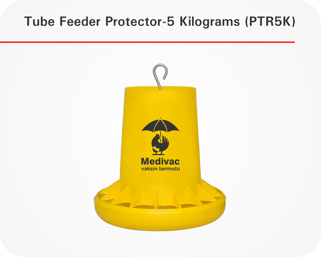 Tube Feeder with Protector-5 Kilograms (TRAP 5K)